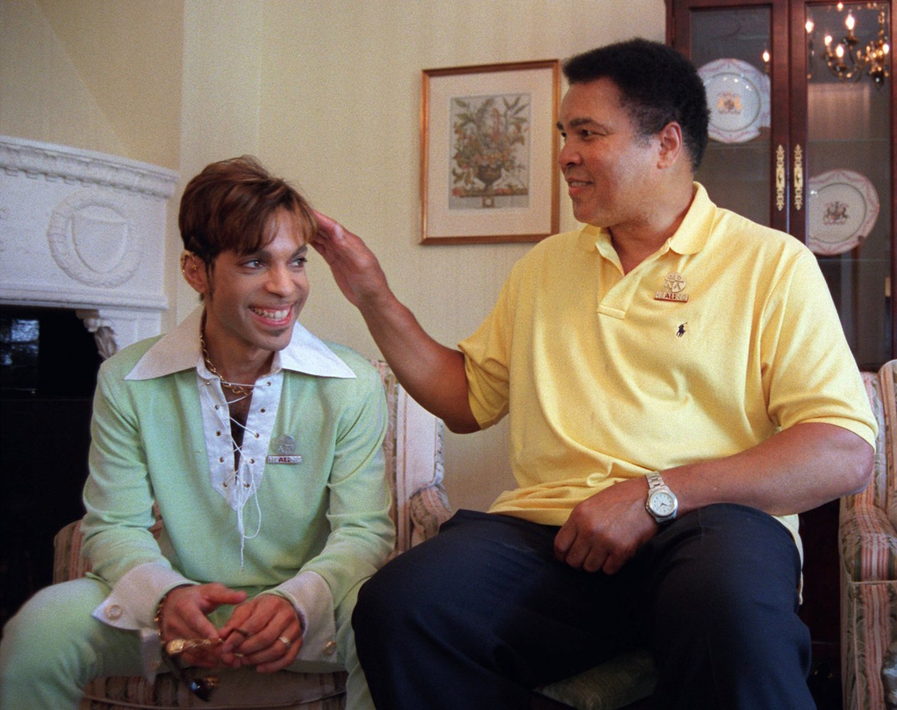 essay the greatest losses what prince and muhammad ali shared image muhammad ali embraces prince during a meeting in 1997