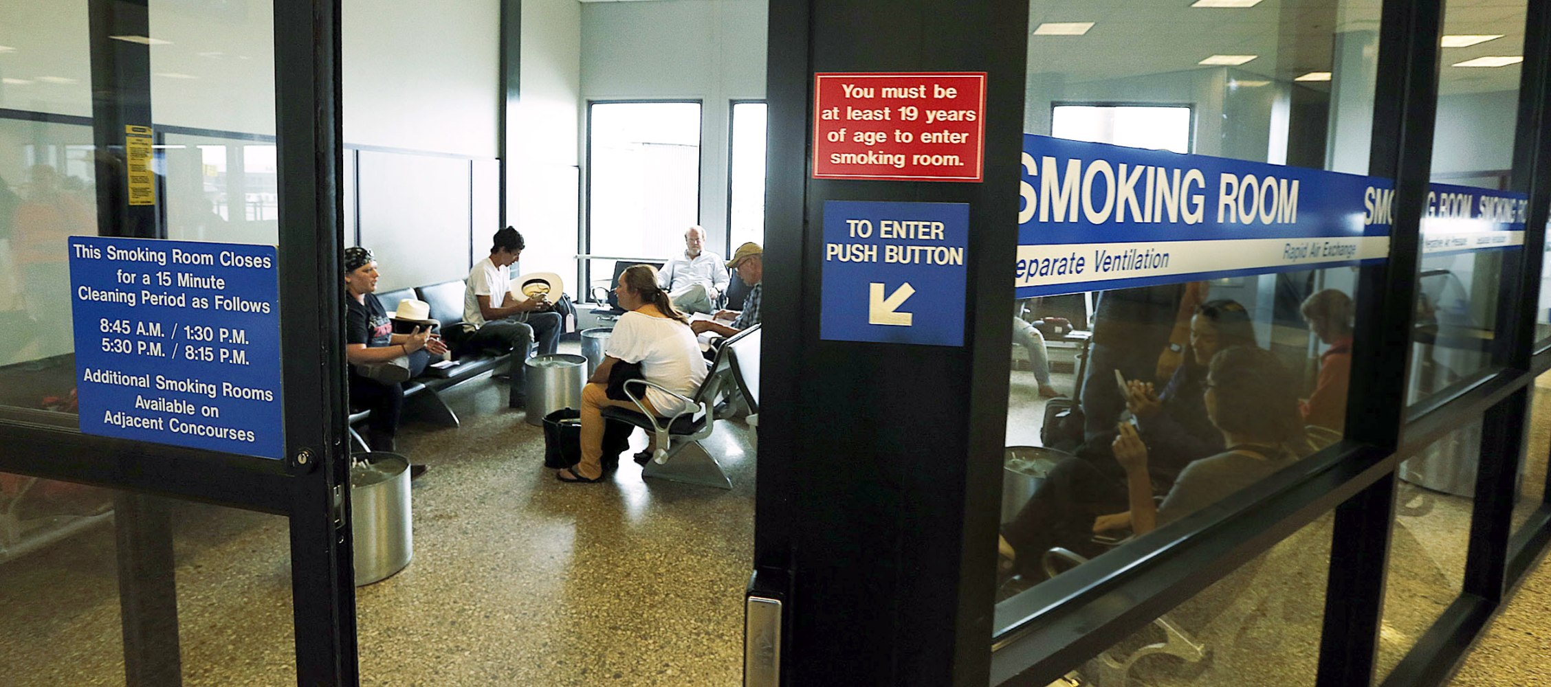 Salt Lake City Snuffing Out Its Post Security Smoking