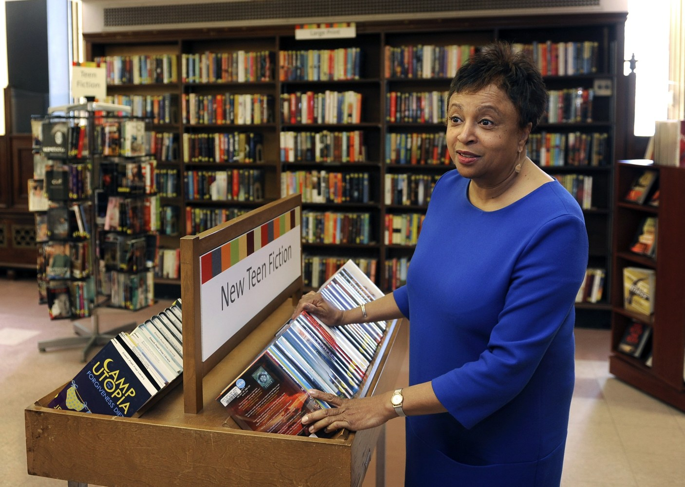 baltimores chief librarian could head library of congress nbc news. Resume Example. Resume CV Cover Letter