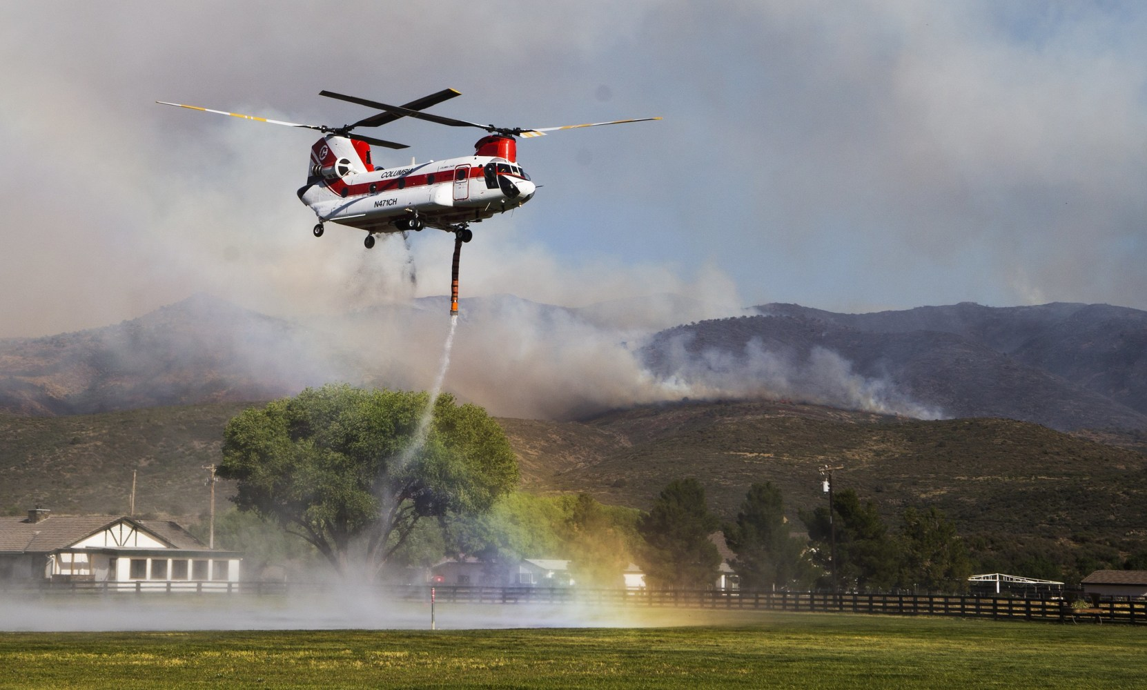Arizona yavapai county yarnell - Image Tenderfoot Fire
