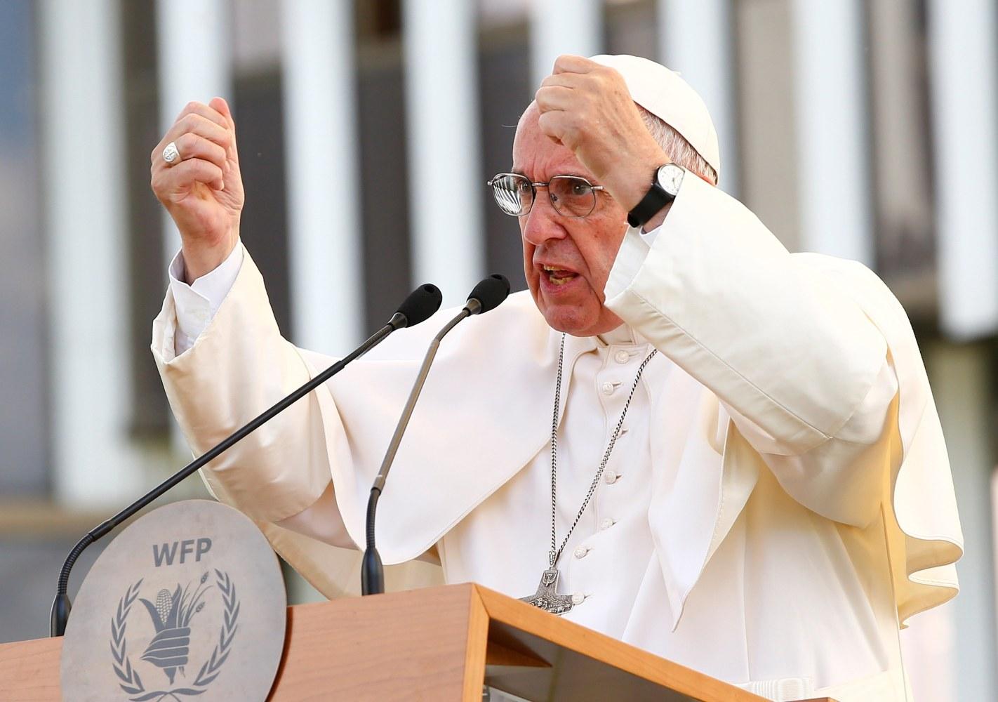 Risultati immagini per pope francis