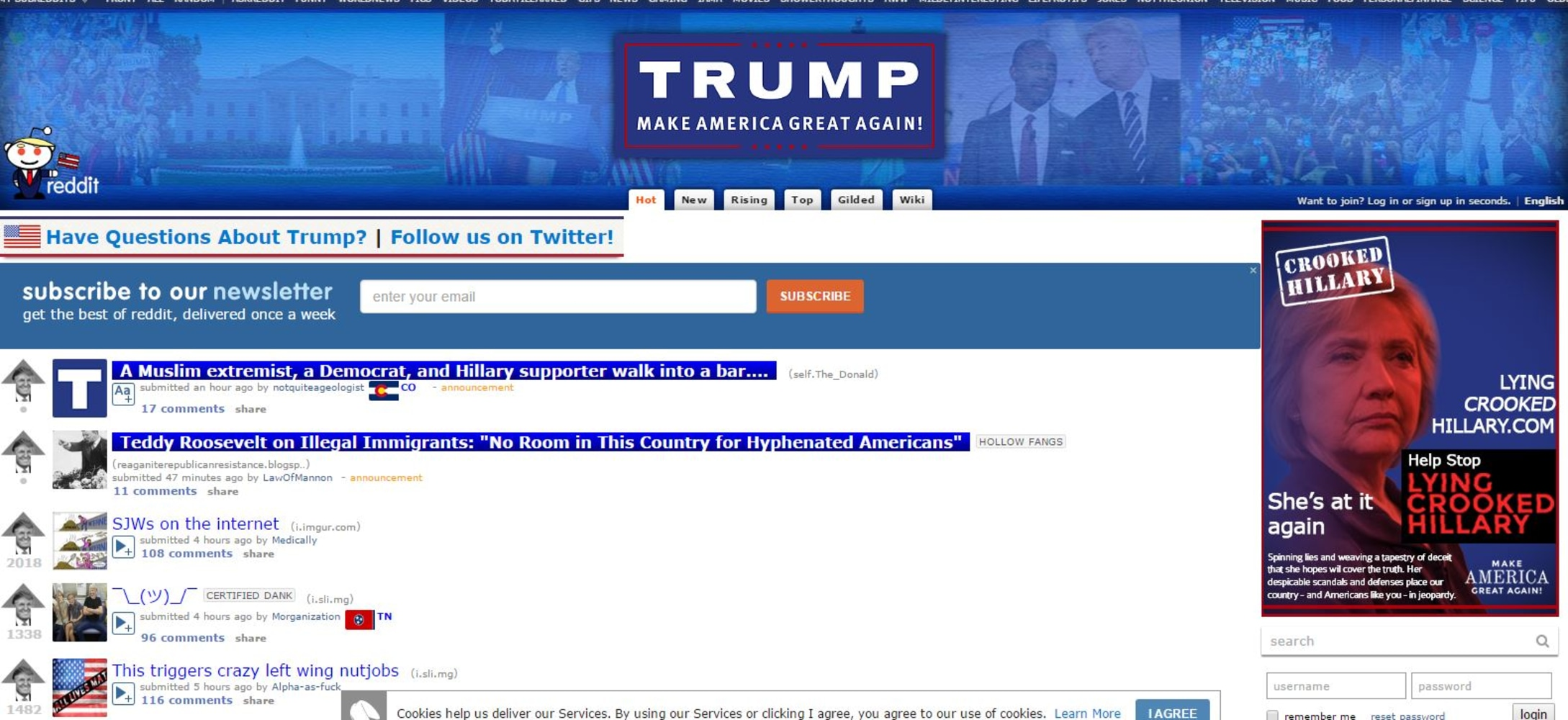 Donald Trump's Reddit Fan Club Faces Crackdown, Infighting - NBC News