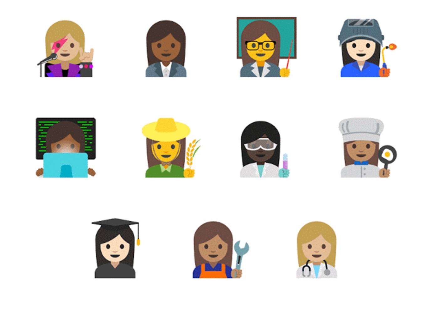 Women doctors, scientists, welders among 11 new emojis