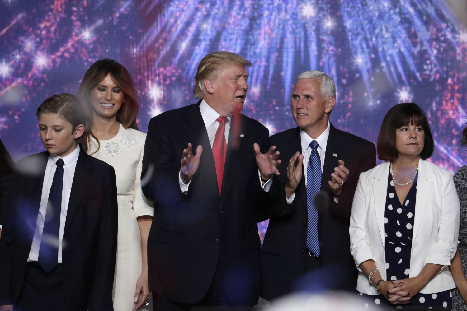 Vice President Mike Pence spoke at Camp David after holding meetings with  President Donald Trump on
