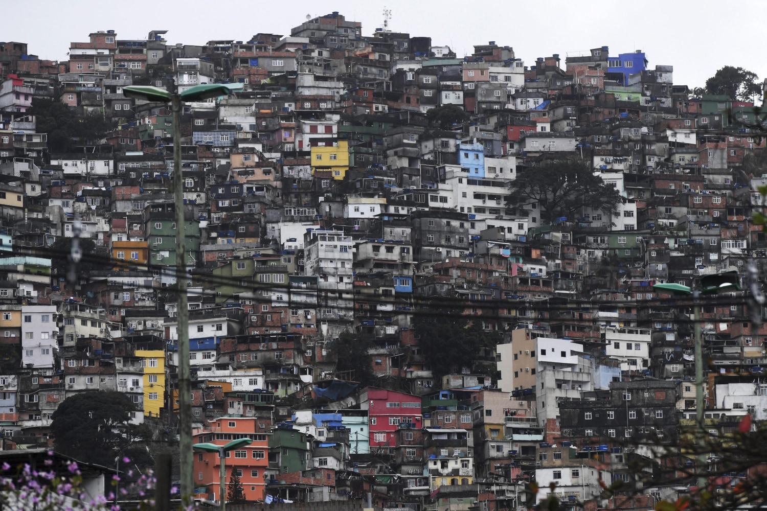brazilian favelas A favela is a slum,  for the brazilian  the people in the favelas let off fireworks when the military police are making a raid and you soon learn to.