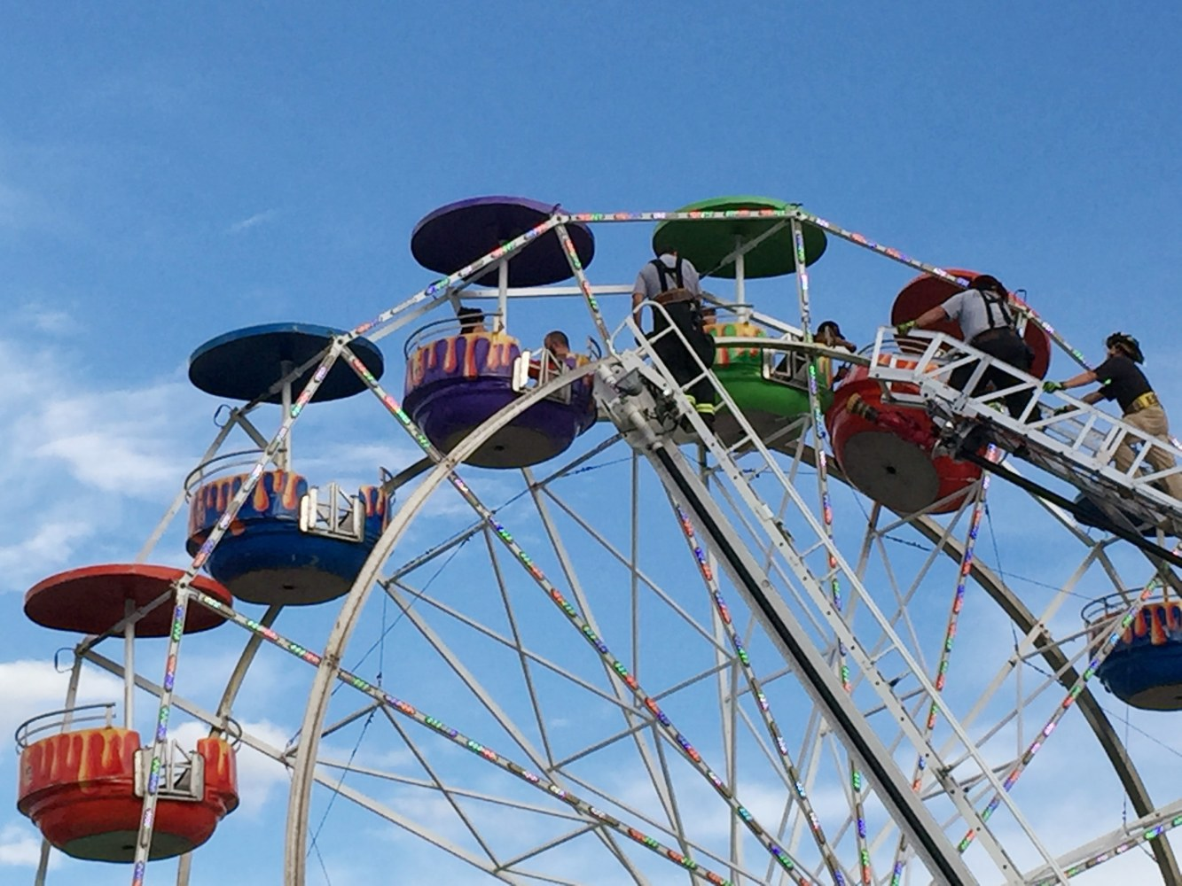 Greene County Fair Ferris Wheel Basket Flips, Injuring ...