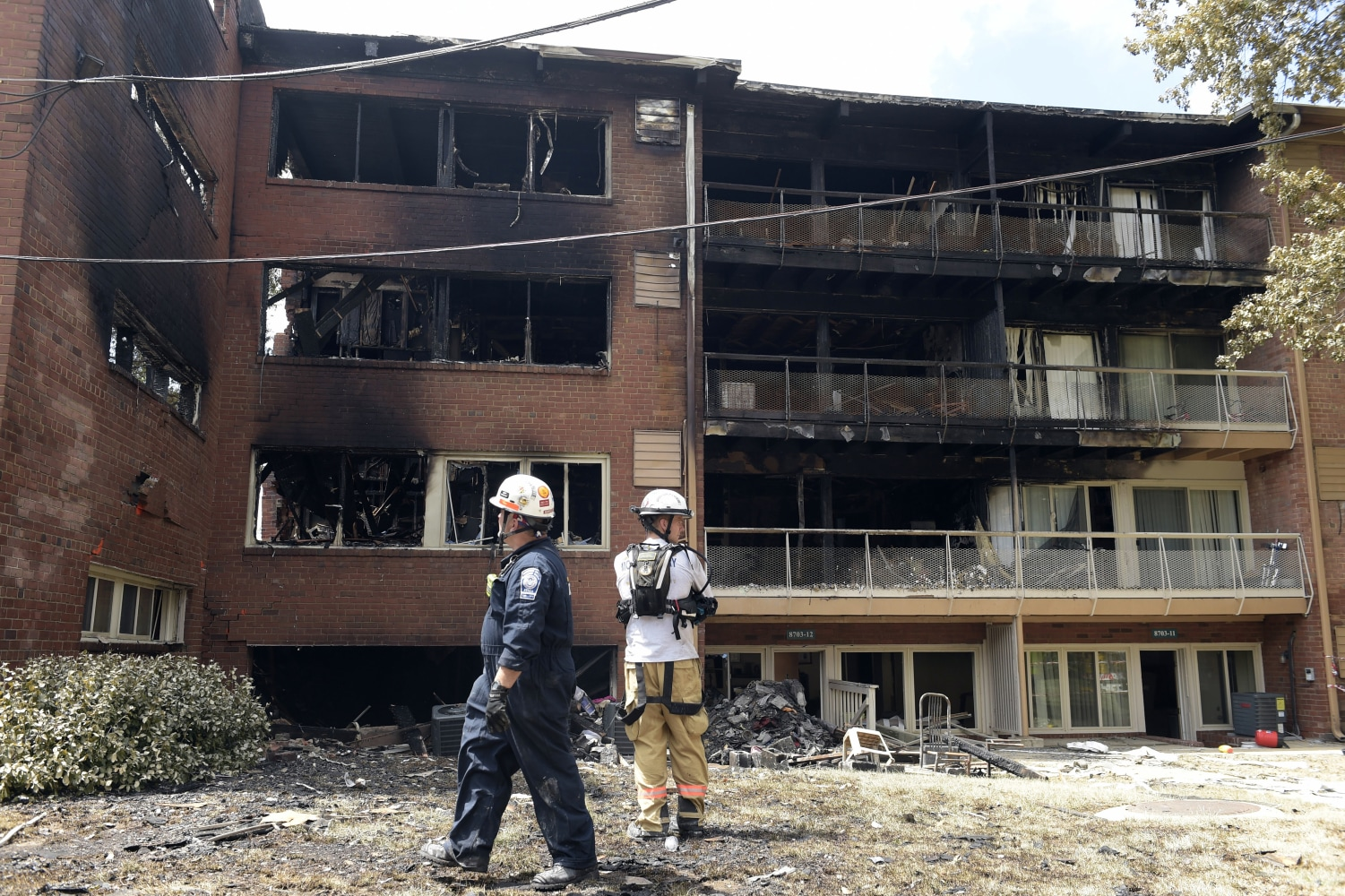 Fourth body found at site of Maryland apartment blast