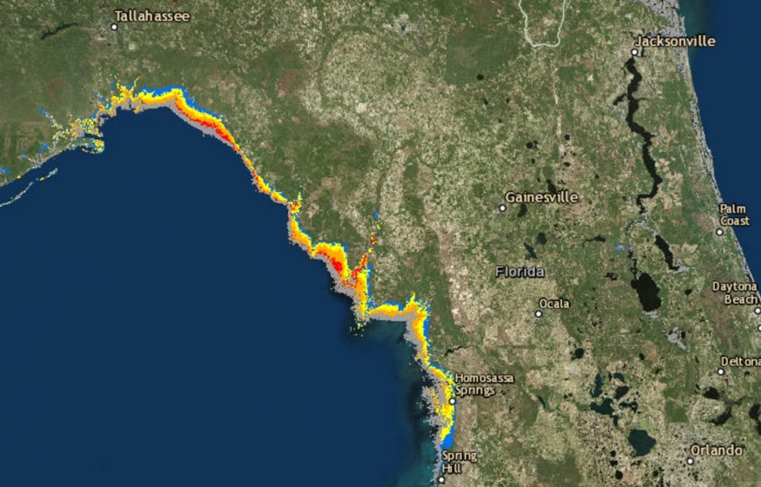 'Brutal Night': Hurricane Hermine Nears Florida's Gulf ...