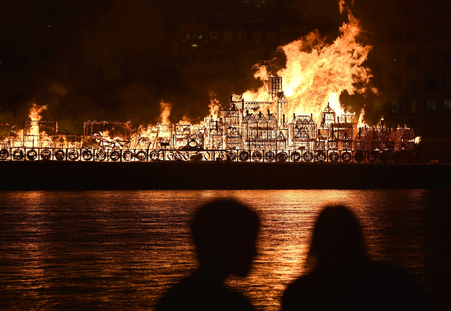 London Fire The spectacle marked t...