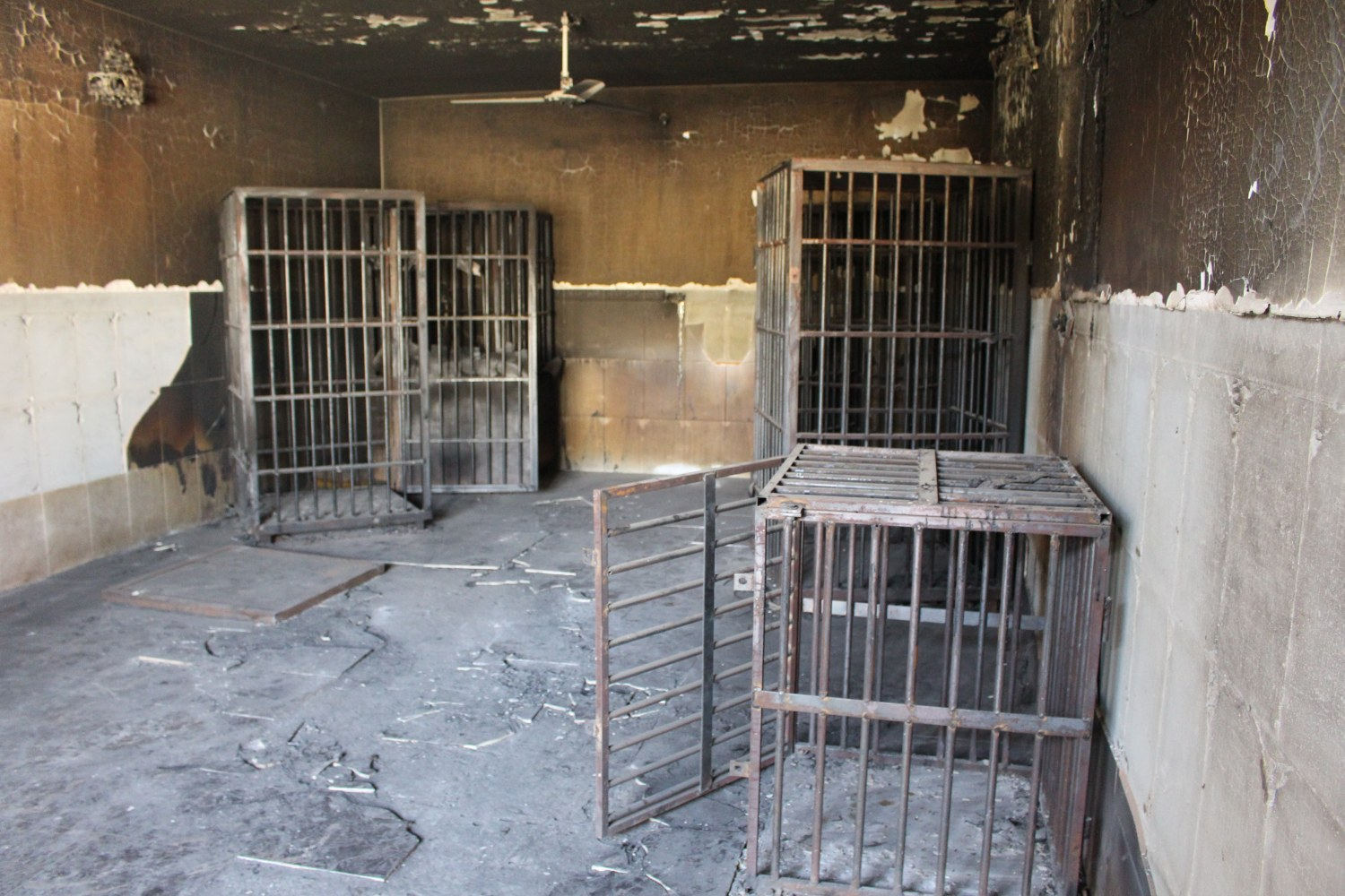 fallujah after isis go inside militants courthouse jail