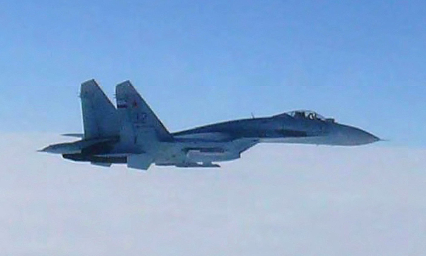russian fighter jet flies within 10 feet of navy aircraft nbc news