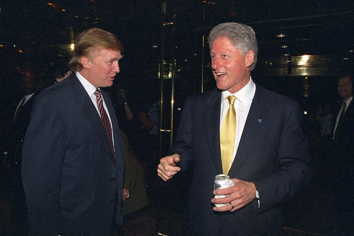 Trump, Bill Clinton Laugh It Up in Newly Released Photos ...