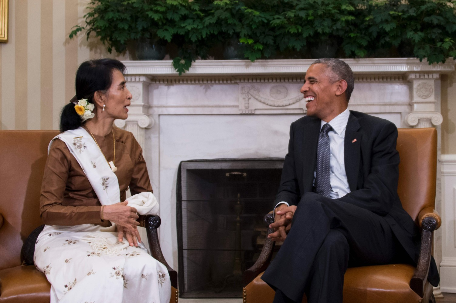 White House Announces Lifting Trade Sanctions on Myanmar During Suu ...