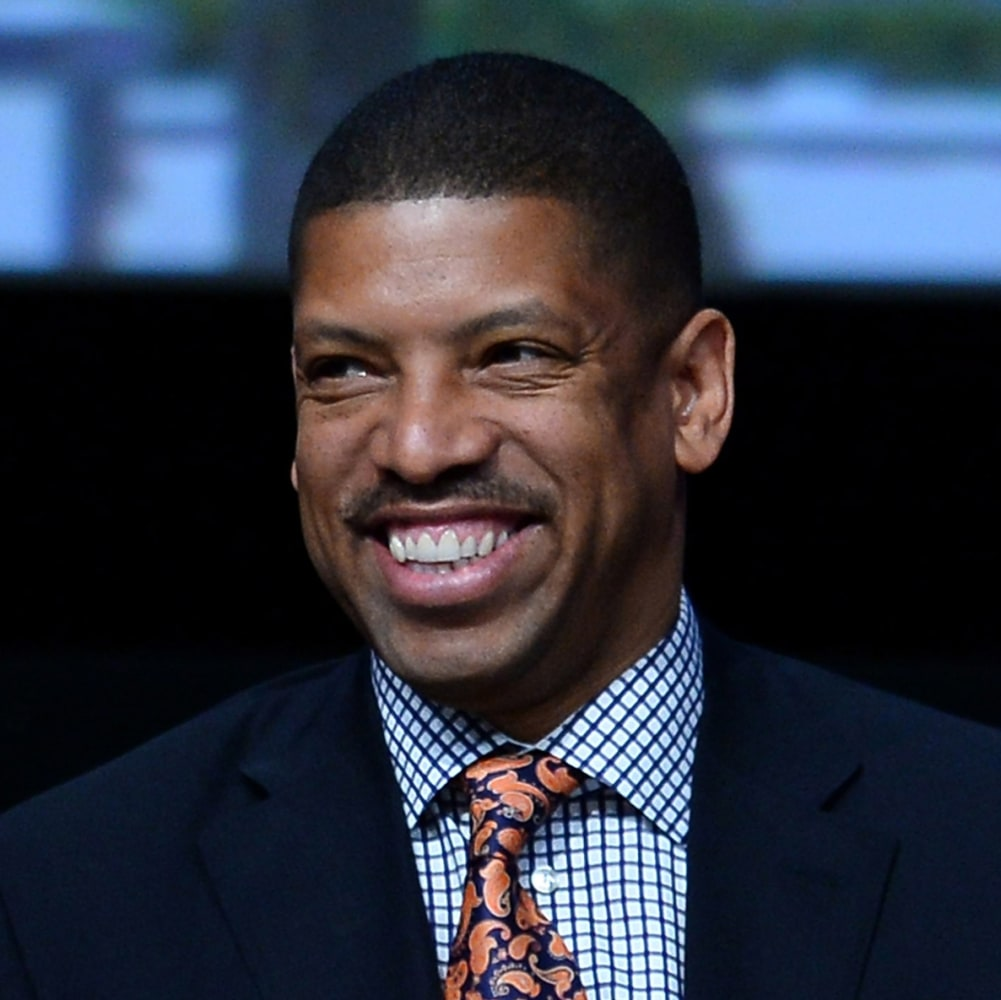 Sacramento Mayor Kevin Johnson Is Hit With Pie at Charity Dinner