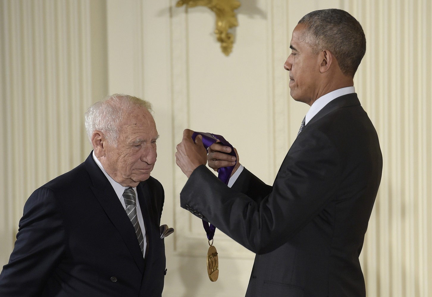 Mel Brooks, Morgan Freeman Lead List of Award Winners at ...