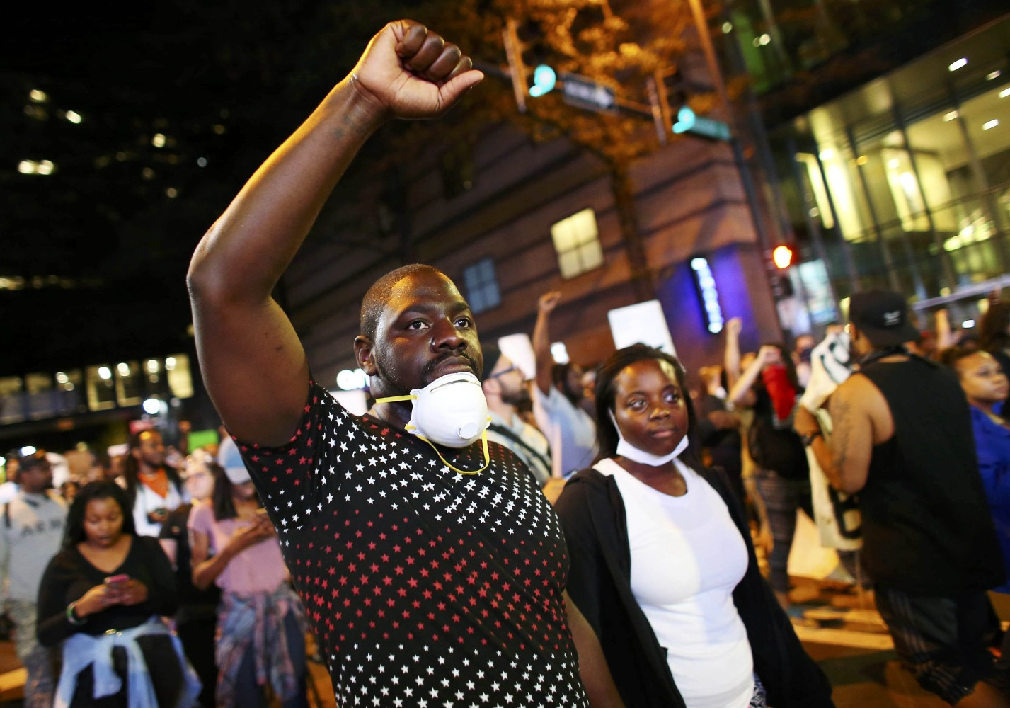 Curfew Takes Effect in Charlotte After Hours of Peaceful Protests