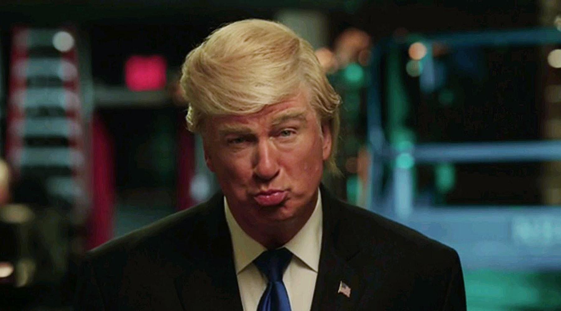 Alec Baldwin Debuts His Trump Impression on 'Saturday ...
