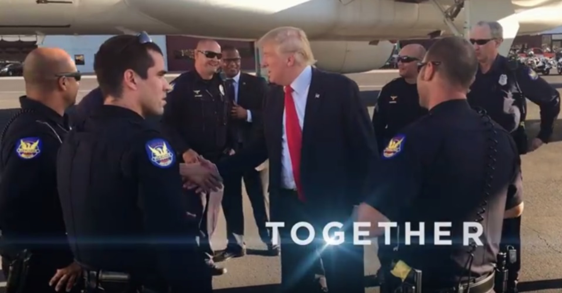 Phoenix tells Trump campaign to stop using city police in ad