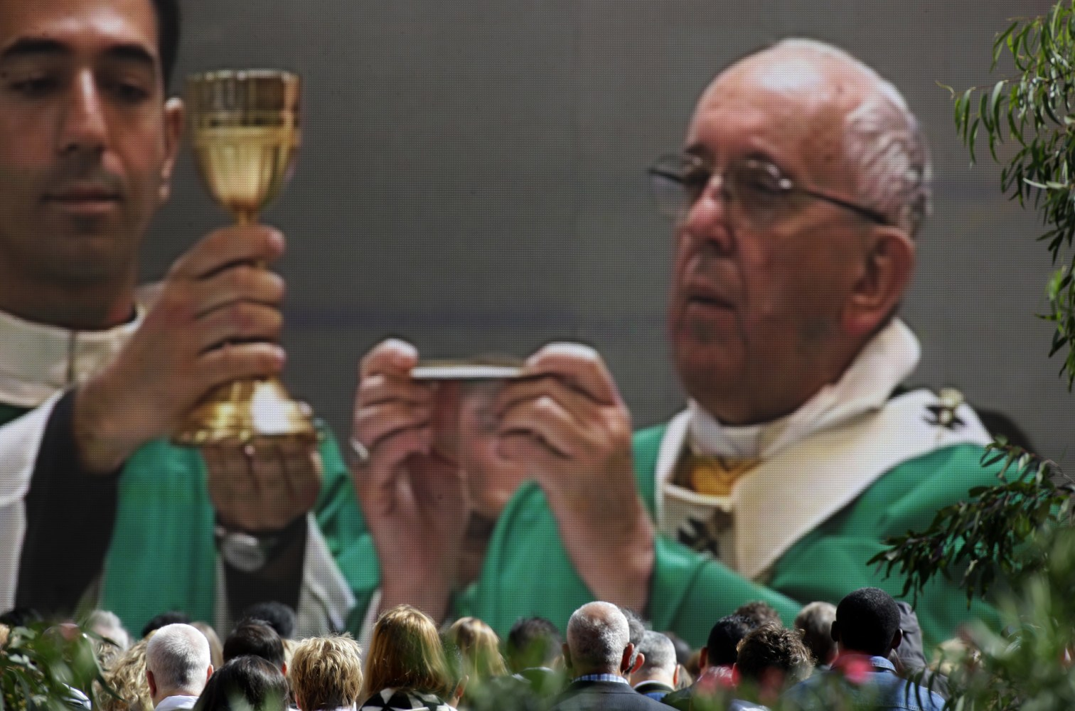 Pope Francis Holds Stadium Mass In Tbilisi