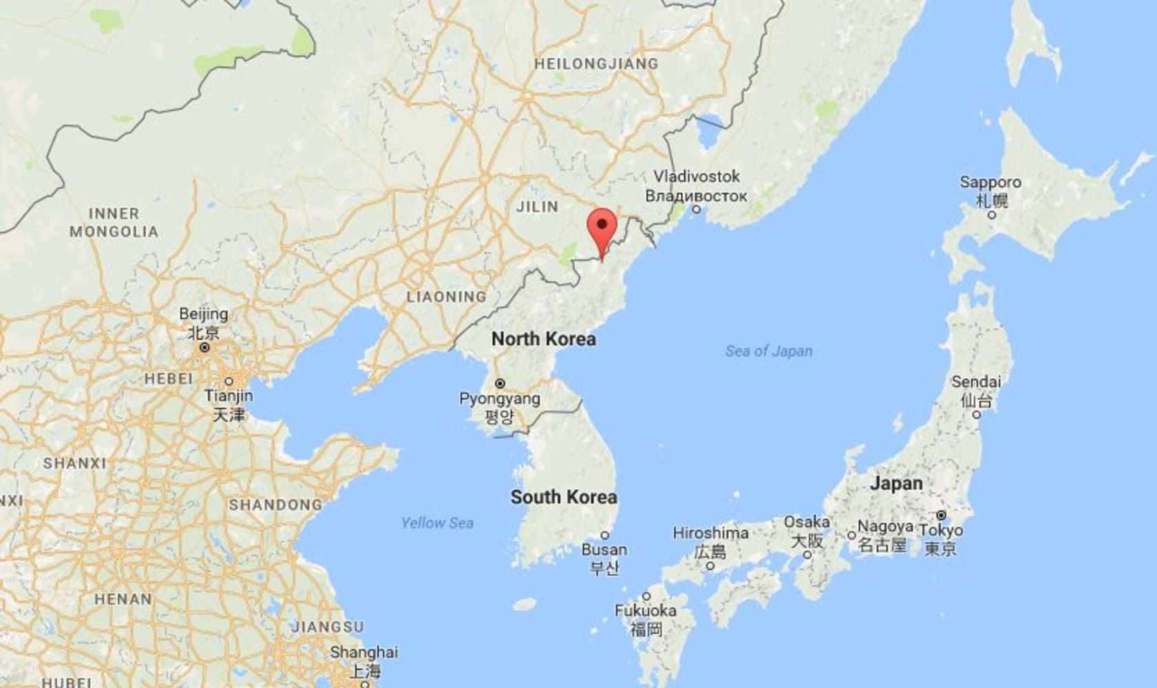 North Korea Floods Work Gangs Race Against Time As Winter Looms - New us map after earthquake