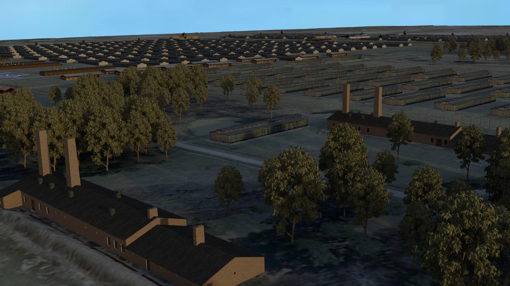 Remodel Software Germany Uses Vr Model Of Auschwitz Birkenau To Catch Nazis