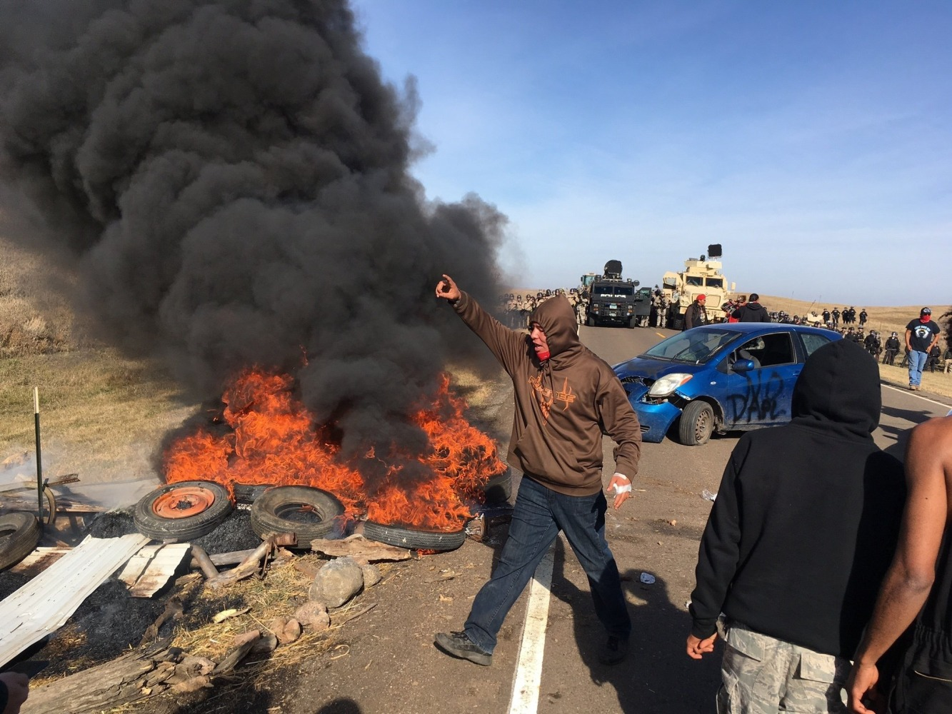 Dakota Access Pipeline: More Than 100 Arrested as Protesters Ousted From Camp