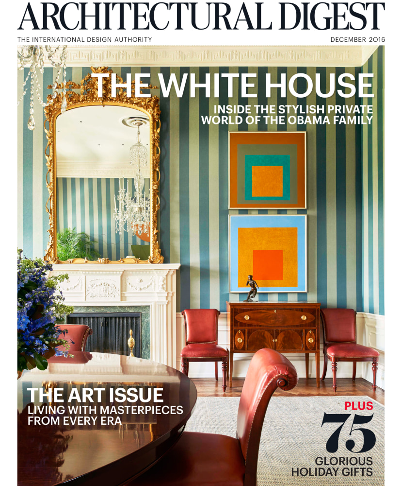 Look inside the obamas 39 stylish white house home nbc news for Interior digest