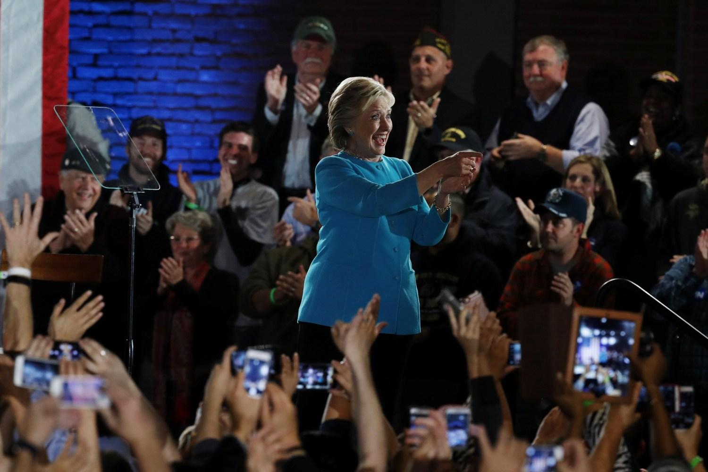 Vote for inclusive, big-hearted America: Clinton tells voters