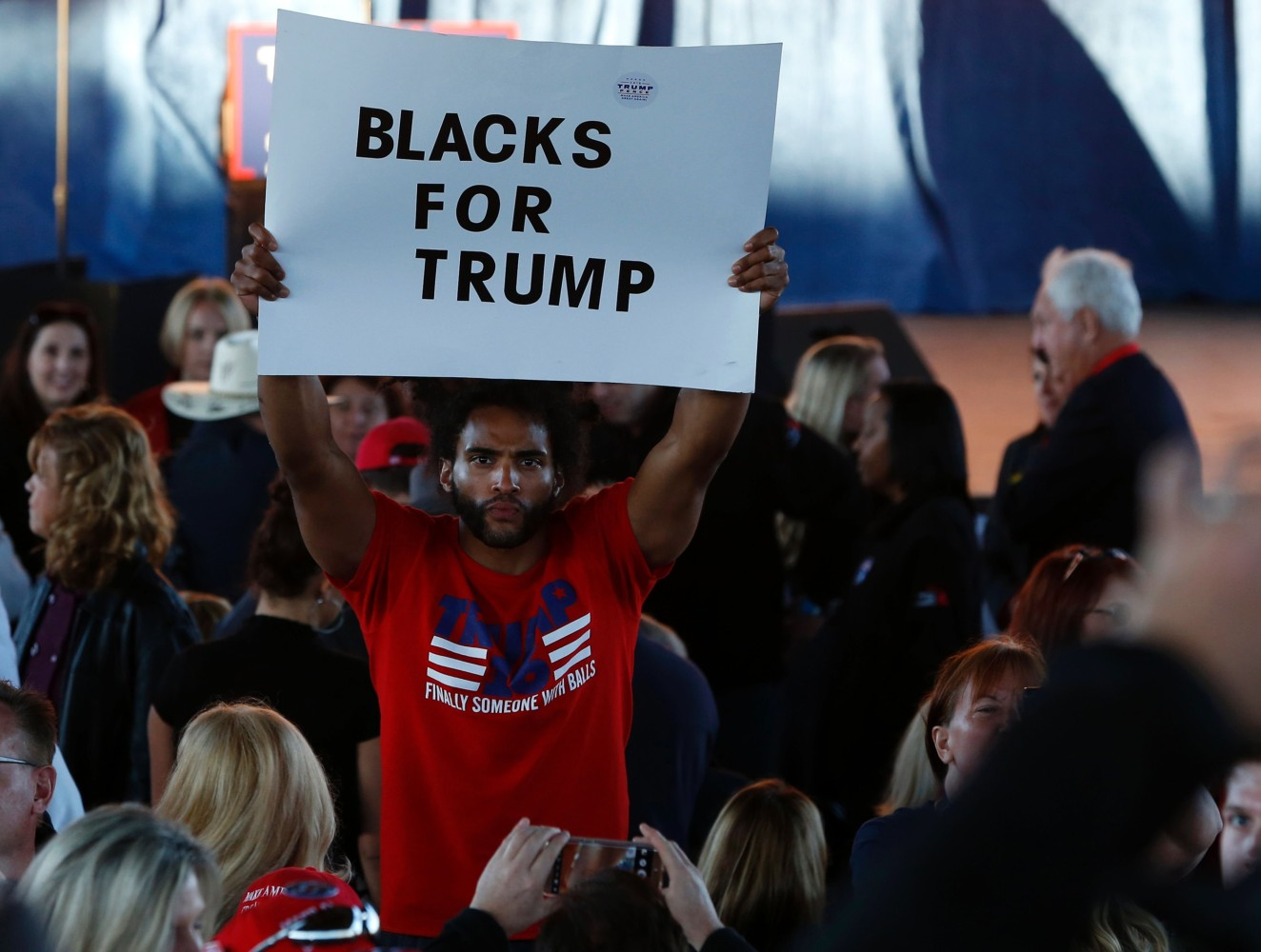Editorial: Black Men for Trump, What Makes Them Tick ...