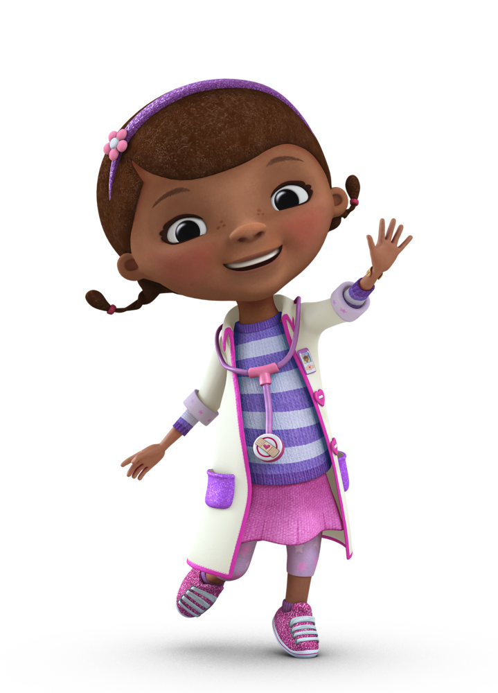 doc mcstuffins Dottie mcstuffins background information television programs doc mcstuffins the doc files voice kiara muhammad laya deleon hayes character information full name dottie mcstuffins other names doc (by everyone) personality kind, friendly, energetic, loving, caring, innocent, sweet, intelligent.