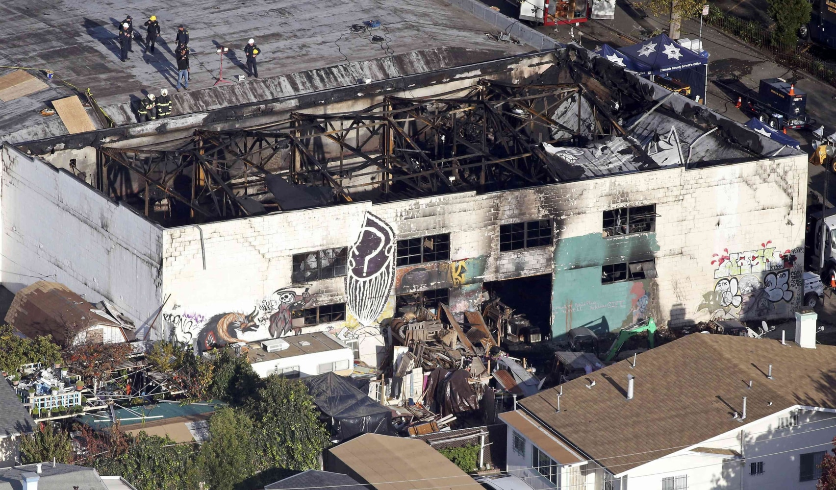 news death toll hits oakland warehouse fire