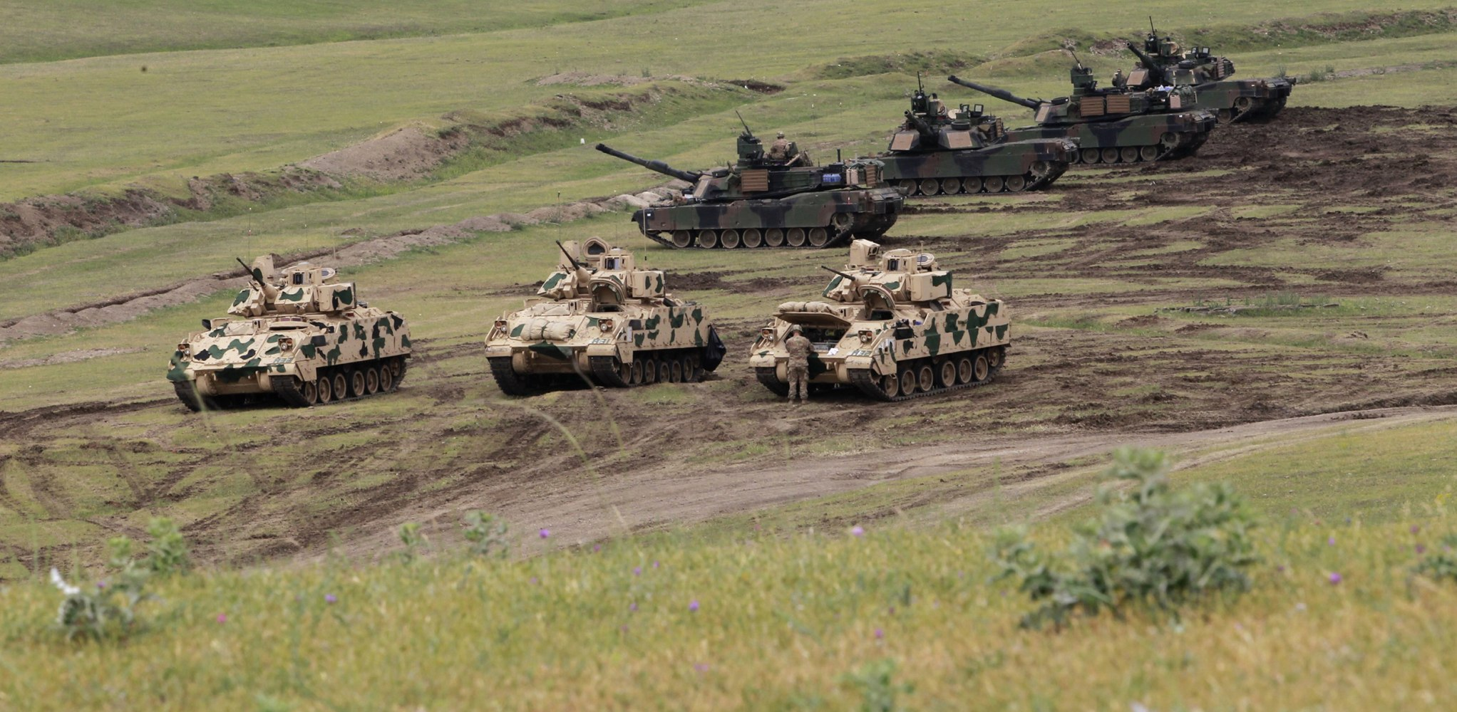 U S Army Returns Tanks To Europe As Nato Eyes Assertive
