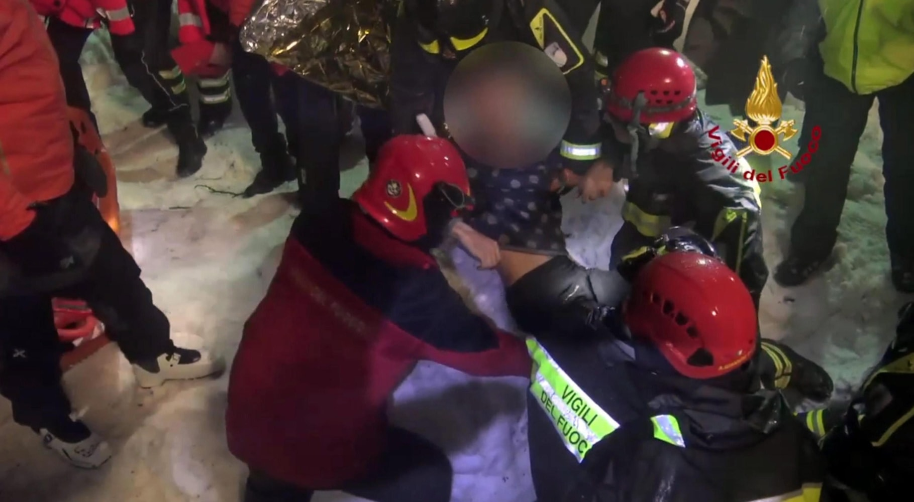 Rescuers Find Survivors 2 Days After Avalanche