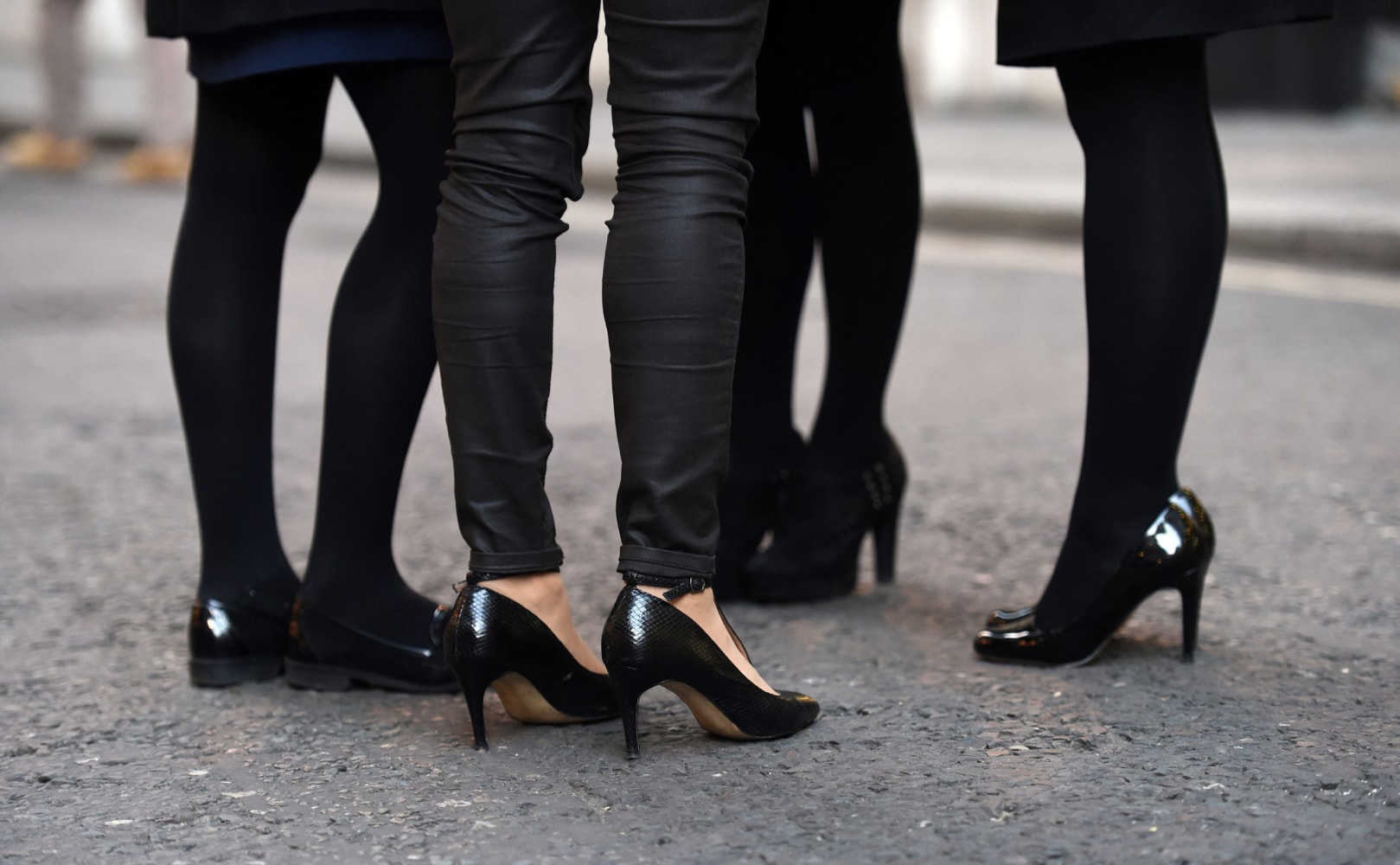 Britain Debates High Heels — Can Employers Require Them? - NBC News