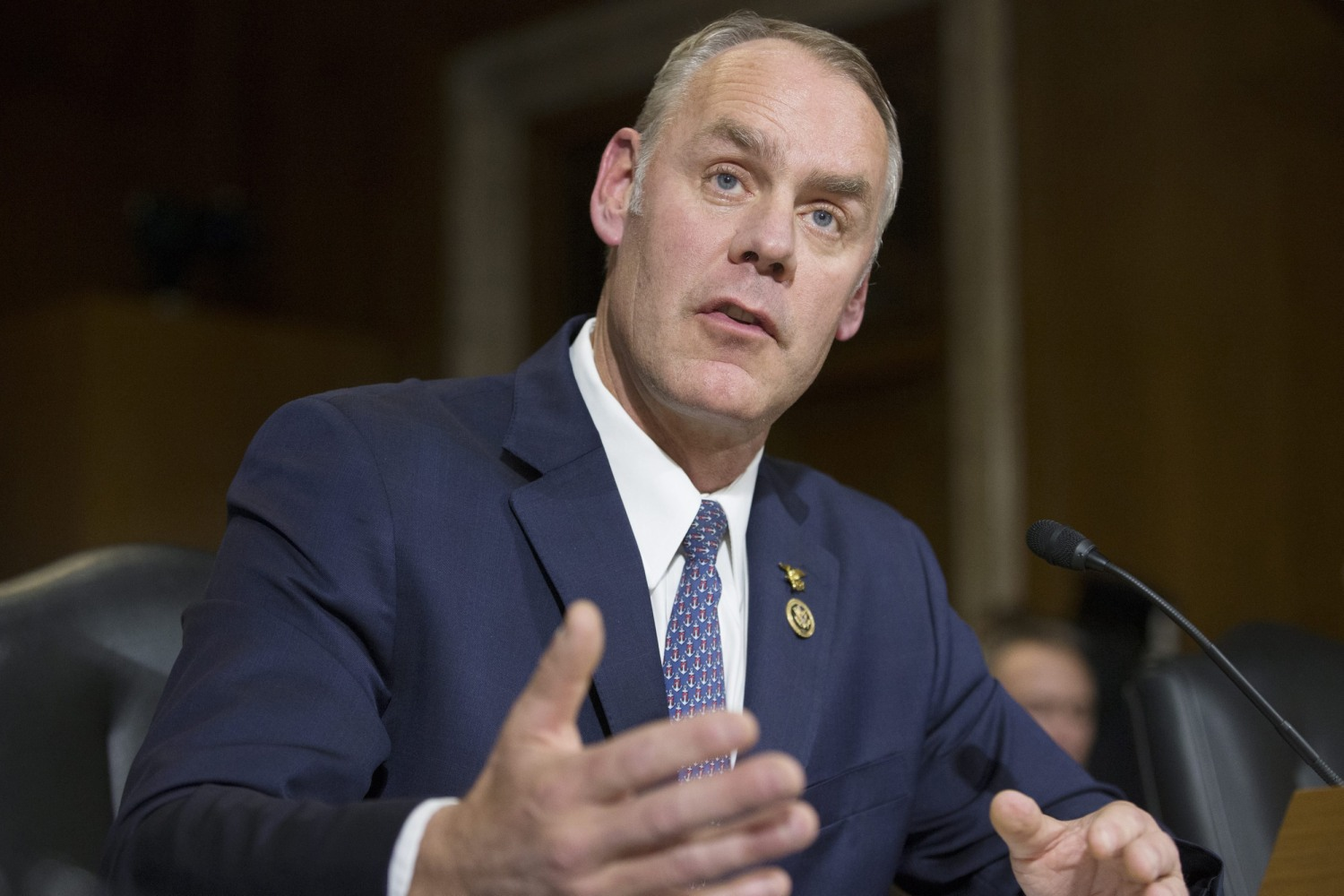Ryan Zinke Montana Congressman Confirmed As Trump 39 S Interior Secretary Nbc News