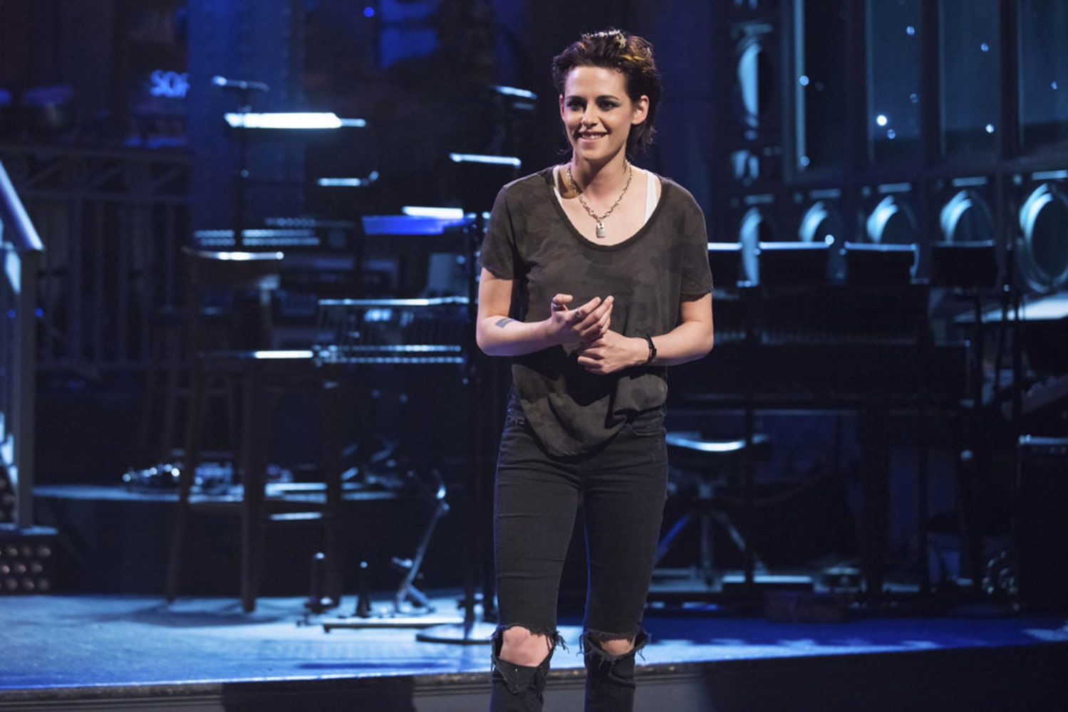 Kristen Stewart Drops a Well-Timed F-Bomb During Her 'SNL' Monologue