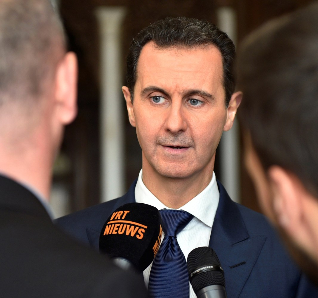 Syria's Assad sees Trump's presidency as 'promising' in war on ISIS