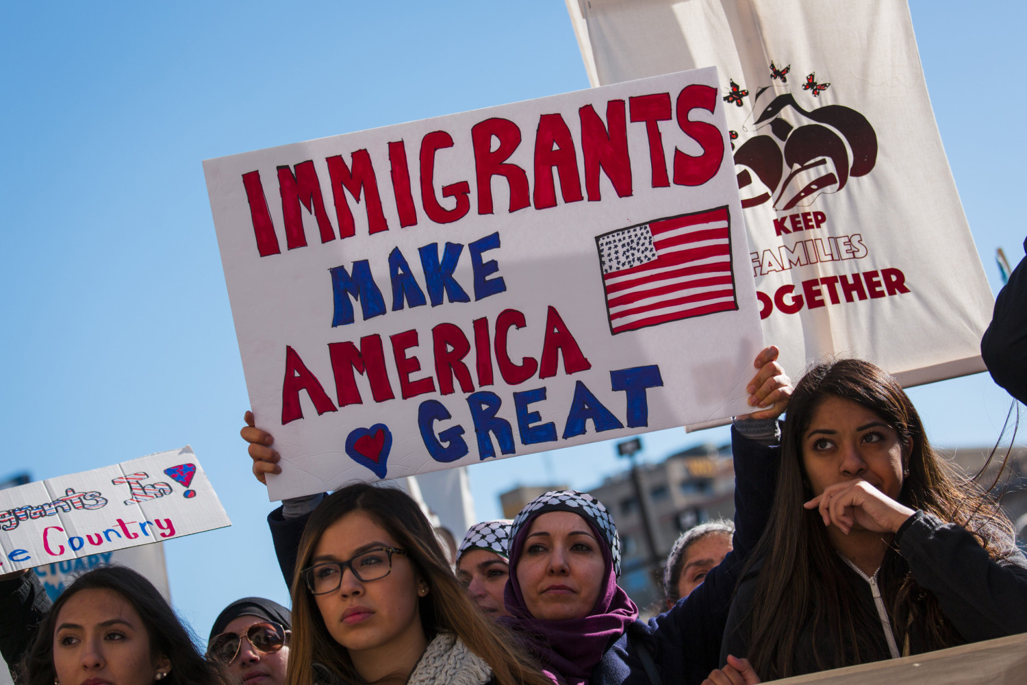 from the immigrants Is it true that immigrants take jobs away from americans and are a drain on the economy background blaming immigrants for the nation's woes has long been an american pastime, especially in hard economic times like today.