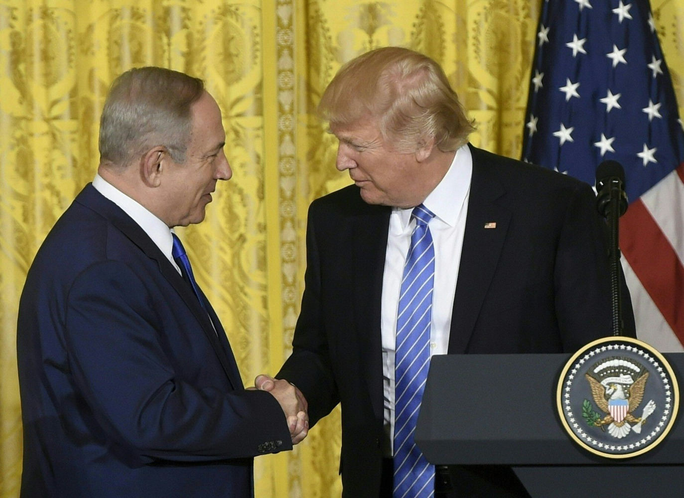 Trump has reportedly punted on moving the Israeli embassy