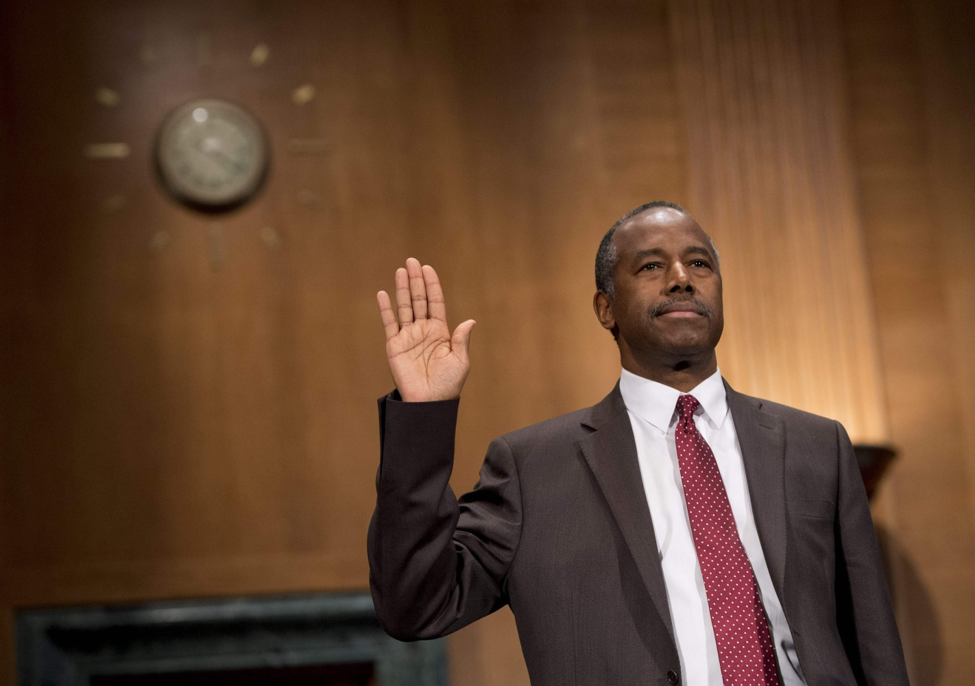 dr. ben carson confirmed as secretary of department of housing and