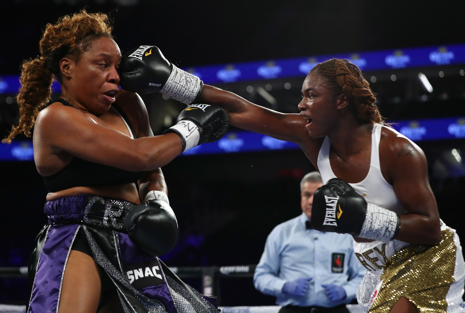Mayweather Move Over Gold Medalist Claressa Shields Is