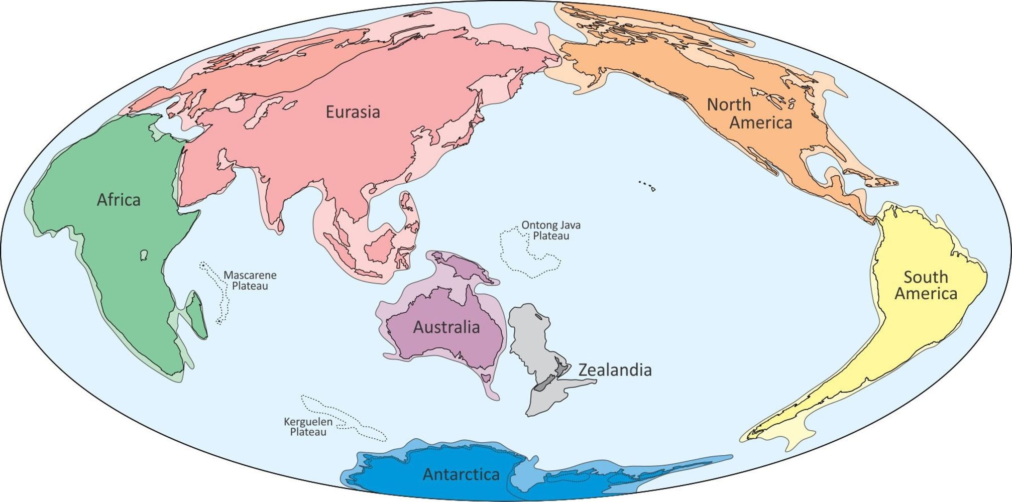 scientists say they ve discovered a hidden continent under new