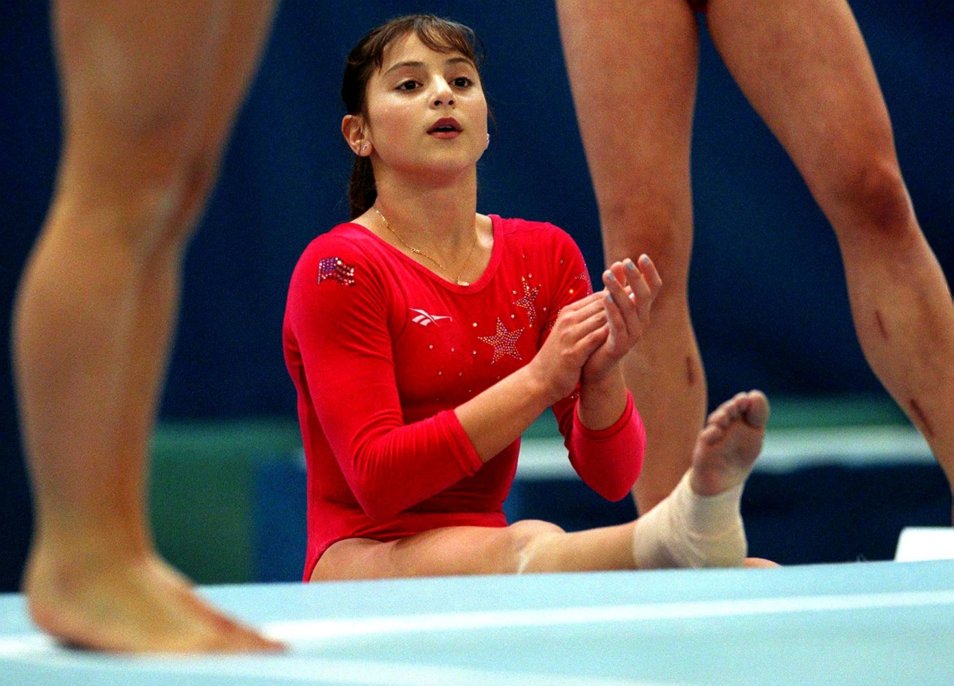 High-profile gymnasts claim abuse by doctor