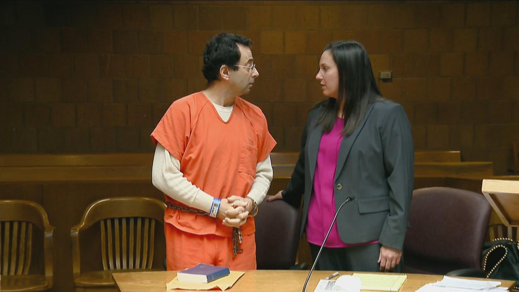 'Monster' Gymnastics Doctor Larry Nassar Pleads Not Guilty ...