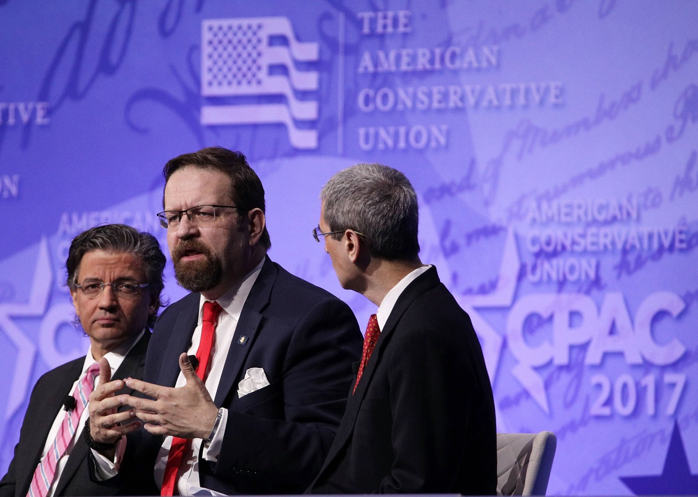controversial trump adviser crows over radical islamic terrorism image deputy assistant to president trump sebastian gorka speaks at cpac