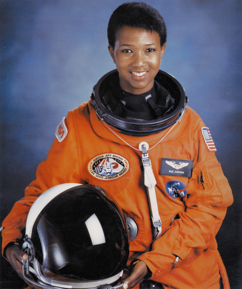 Image Mae C Jemison first African American woman in space