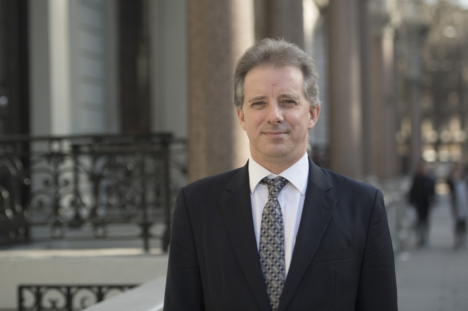 Ex-MI6 officer behind Trump dossier breaks silence