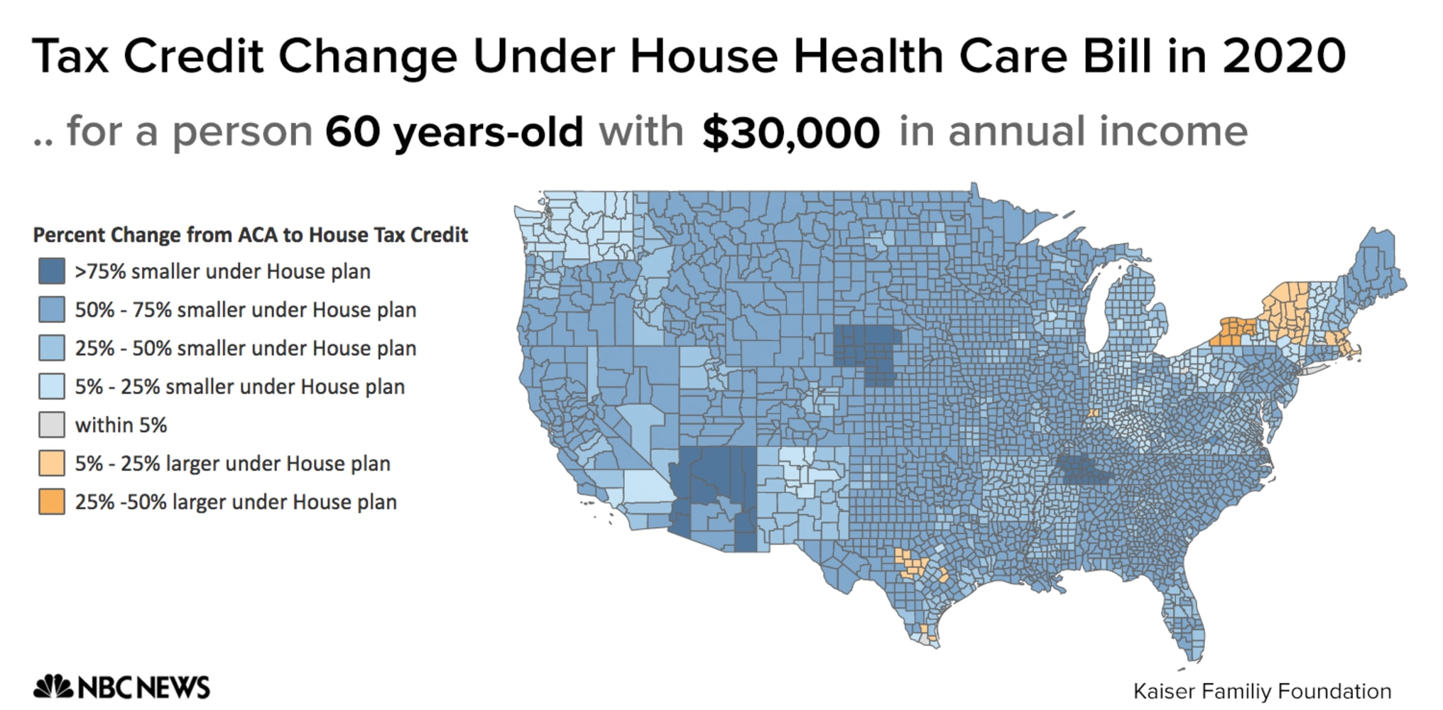 Geography Is Another Problem The House Gop Bill S Tax Credits Are The Same Everywhere But Premium Costs Vary Wildly Depending On Where You Live
