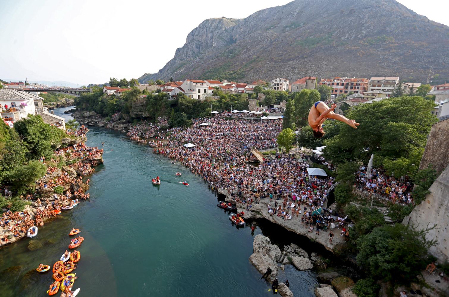 Bosnian War, 25 Years Later: Mostar Bridge Illustrates ...  Bosnian War, 25...