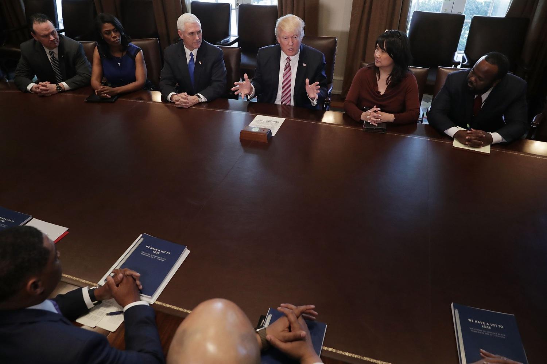 Caucus Room Meeting